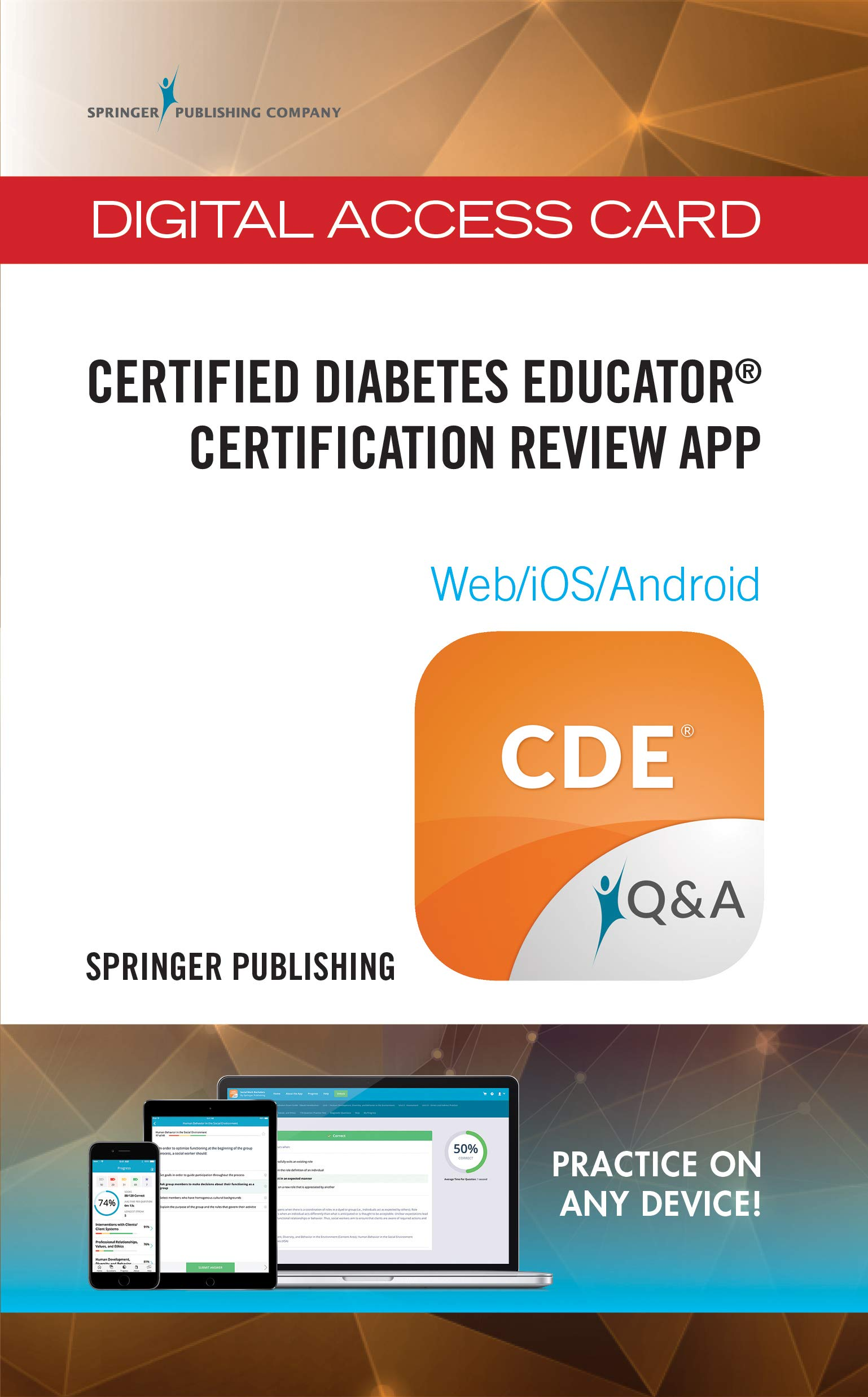 Certified Diabetes Educator Certification Review App Hundreds Of