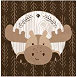 Woodland Creatures - Baby Shower or Birthday Party Beverage Napkins (16 count)