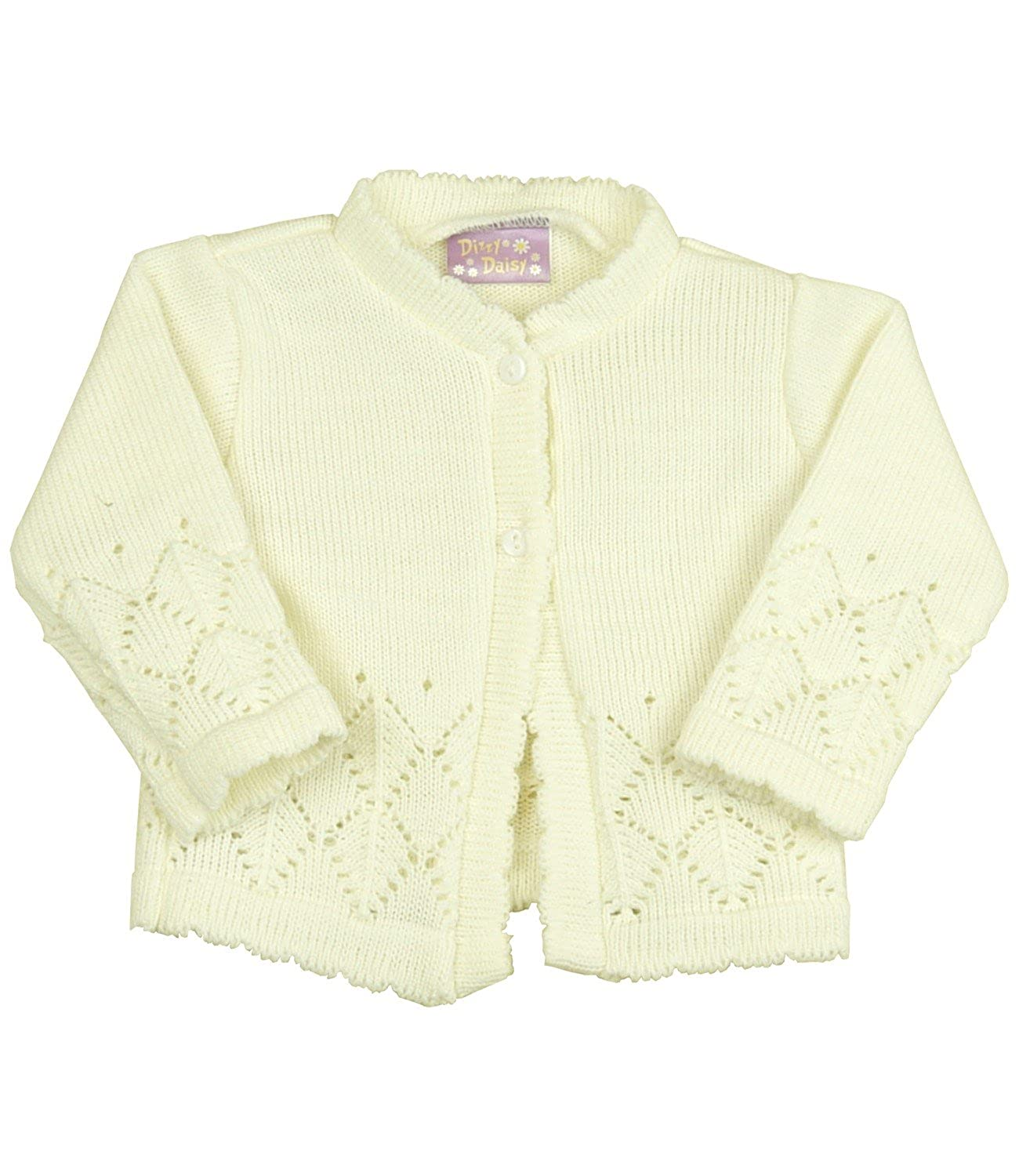 e6a624199f0e Amazon.com  BabyPrem Baby Girls Boys Cardigan Cream Pink Knitted ...