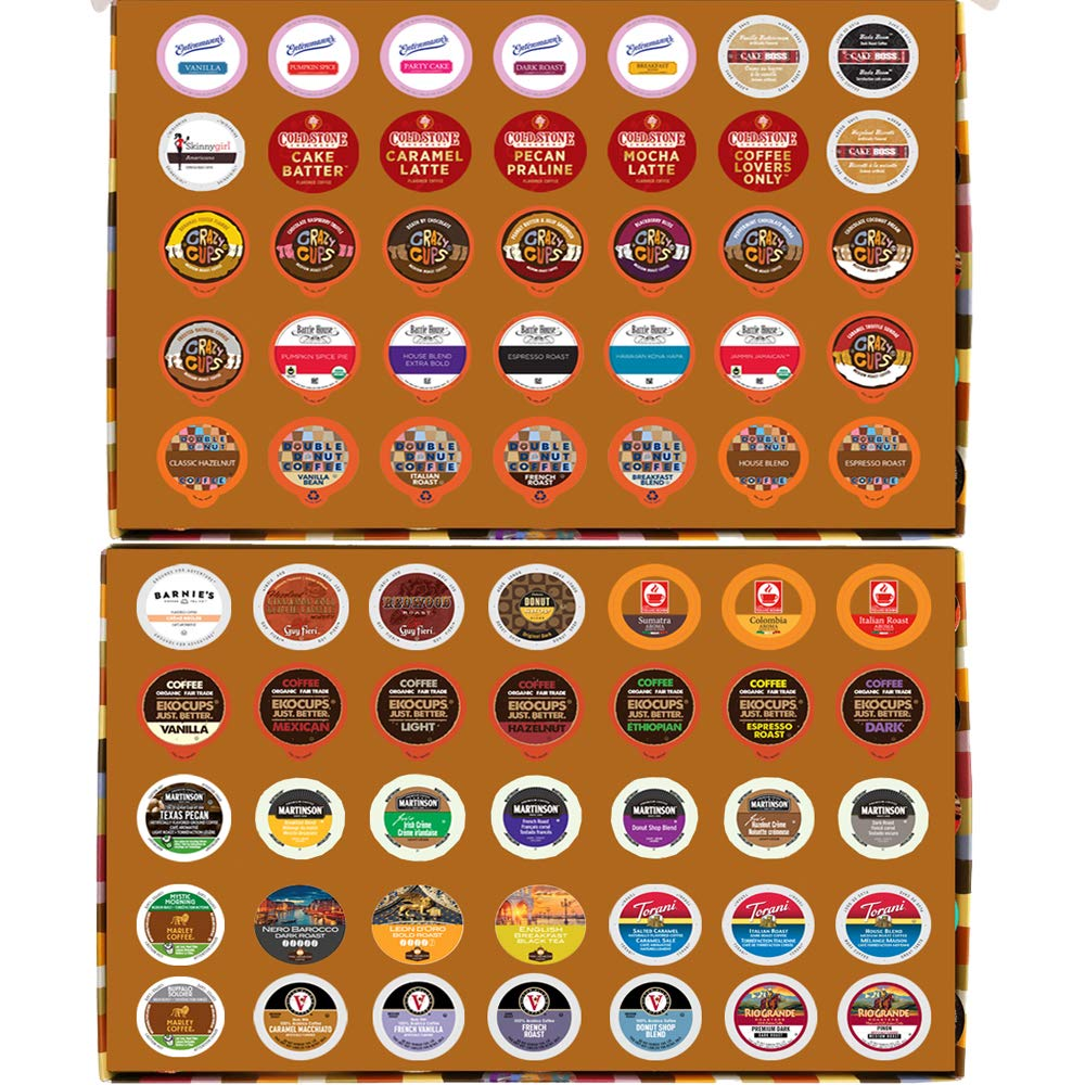 2 Holiday Gift boxes of regular and flavored coffee for the Keurig K Cup Brewer, 2 boxes of 35 cups in each 71P8CZTLpKL