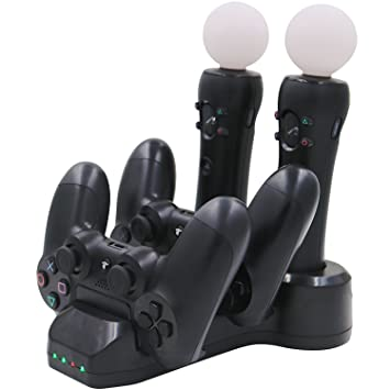 Aresh para PS Move Controller Cargador / PS4 Controller ...