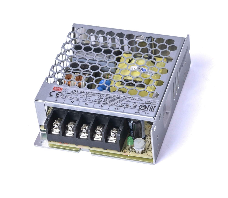 KingLed MeanWell Fuente de alimentaci/ón Meanwell Modelo RS-15-24 15W 24V Transformador Switching Mean Well NO resistente al agua IP20 para Tiras LED c/ód.1578