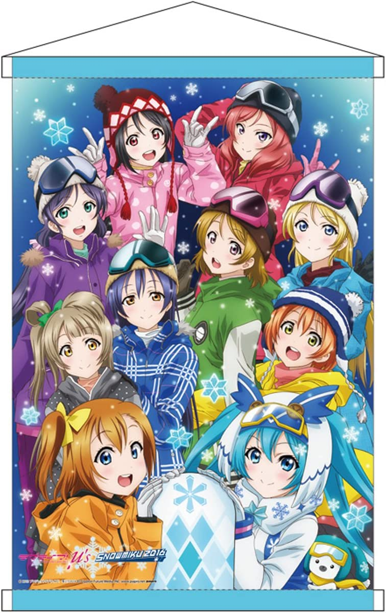 Love Live s SNOW MIKU 2016 B2 Tapestry