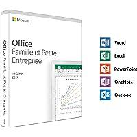 Microsoft Office Famille et Petite Entreprise 2019 - 1 PC ou Mac - achat définitif (envoi par la poste)