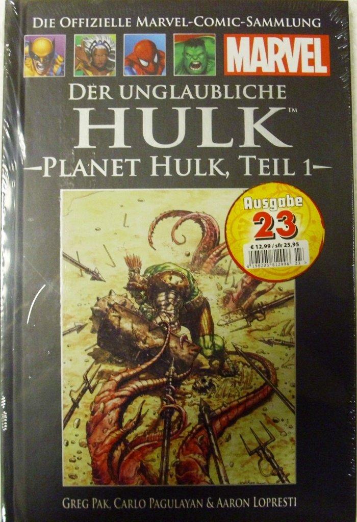 Die offizielle Marvel-Comic-Sammlung 45: Der unglaubliche Hulk - Planet Hulk Teil 1 Gebundenes Buch – 2013 Greg Lopresti Aaron (Illustr.) Pak Hachette Collections B00GTKVE9G