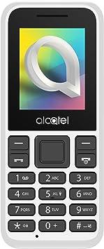 """Oferta amazon: Alcatel 1066D - Telefono móvil de fácil uso, Pantalla de 1.8"""" QQVGA, 2G, cámara trasera CIF, 4MB de RAM, 4MB de ROM, batería 400mAh (Blanco)"""