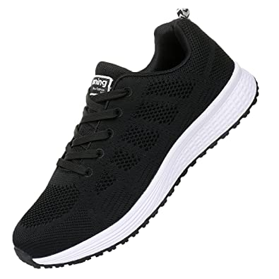9167e9313fdb JARLIF Men s Breathable Fashion Walking Sneakers Lightweight Athletic  Tennis Running Shoes (6.5 D(M