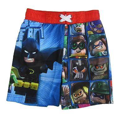 e7ae55eb75 LEGO Batman Swim Shorts - multicolored - 8: Amazon.co.uk: Clothing