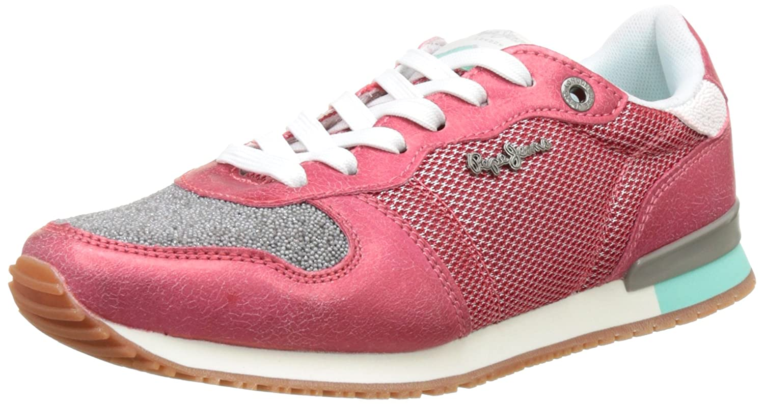Pepe Jeans Damen Gable New Caviar Turnschuhe