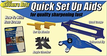 Ron Brown/'s Best Quick Sharpening Aids For Wood Lathe Tools