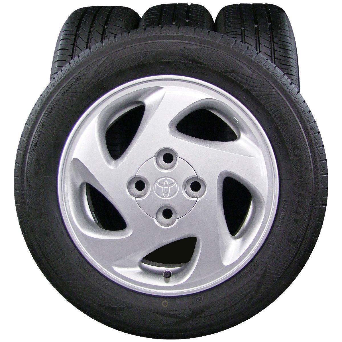 14インチ 4本セット タイヤ&ホイール TOYO (トーヨー) NANOENERGY3 (ナノエナジー3) 175/65R14 TOYOTA (トヨタ) COROLLA (カローラ) SPRINTER (スプリンター) 純正 14×5.5J(+45) PCD100-4穴 B07CYJ1RFH