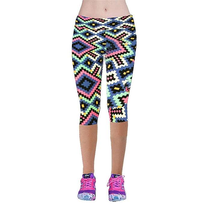 Kebinai Women Capris Leggings Women Pantalones at Amazon ...