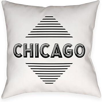 ArtVerse Katelyn Smith 16 x 16 Indoor//Outdoor UV Properties-Waterproof and Mildew Proof Louisiana Watercolor Pillow