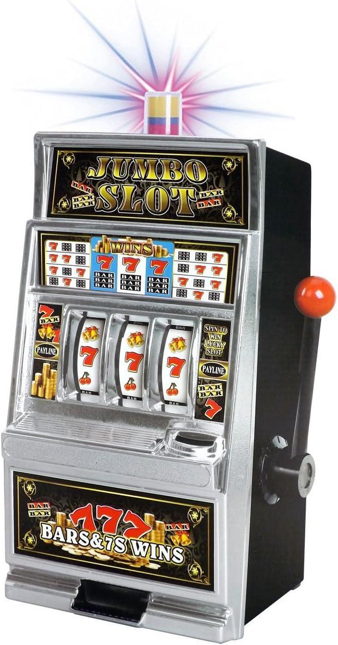 Liberty Imports Lucky Sevens Jumbo Slot Machine Bank Replica