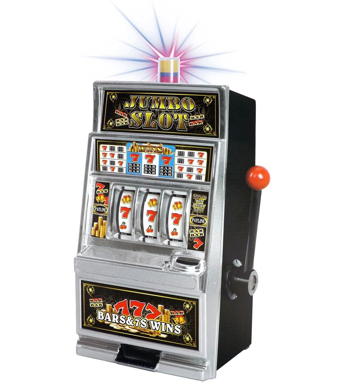 Liberty Imports Lucky Sevens Jumbo Slot Machine Bank Replica by Liberty Imports