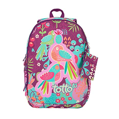 TOTTO Mochila Escolar - Alondra