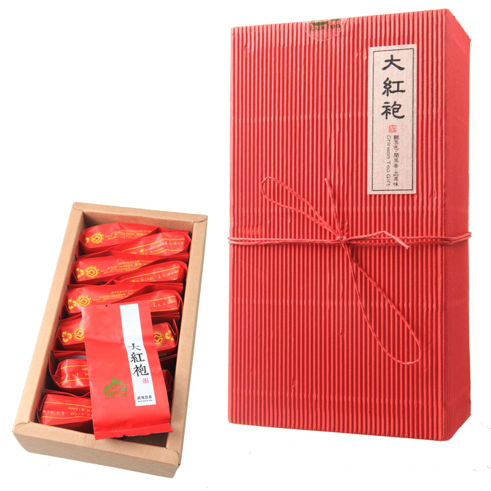 Luxtea Chinese Top10 Famous Tea - Wuyi Da Hong Pao / Rock Tea / Big Red Robe / Dahongpao Oolong Black Tea - Grade AA (High Grade) by Luxtea