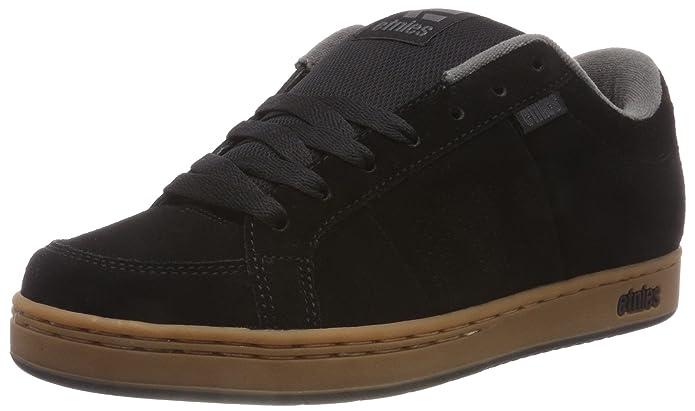 Etnies Kingpin Sneaker Skateschuhe Herren Schwarz (Black/Gum/Dark Grey)