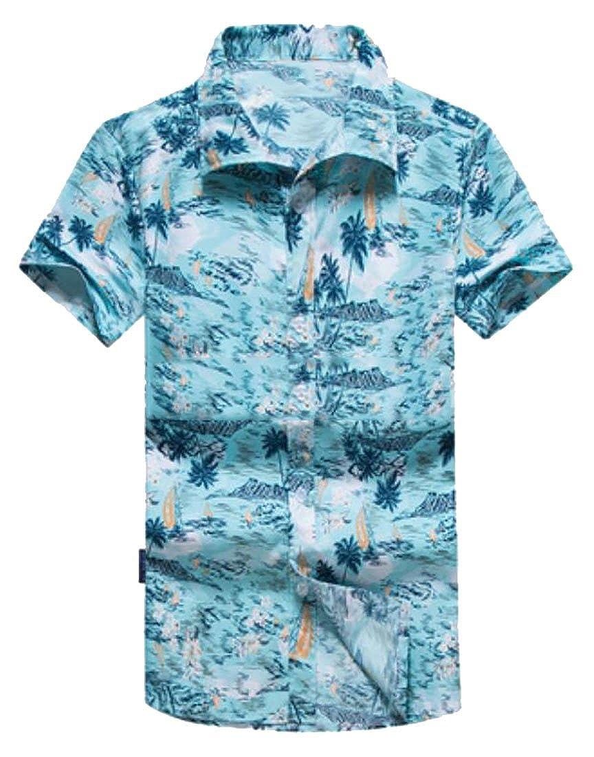 Nanquan Men NQ Mens Solid Color Casual Slim Fit Long Sleeve Button Down Dress Shirts Tops