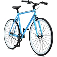 SE Bikes Adult Draft Single Speed Urban City Commuter Bike (Light Blue)