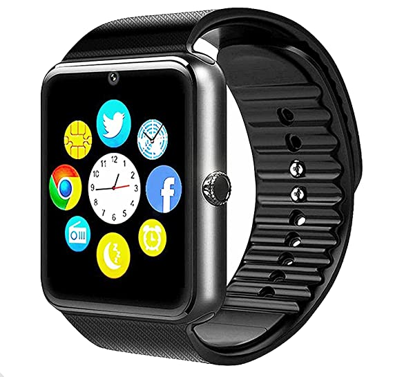 GT08 Bluetooth Smart Watch for Android Phones, Beaulyn Smart Watch with SIM Card Slot,Call,Massage,for iOS Phone and Android Phones ZTE Sony LG ...