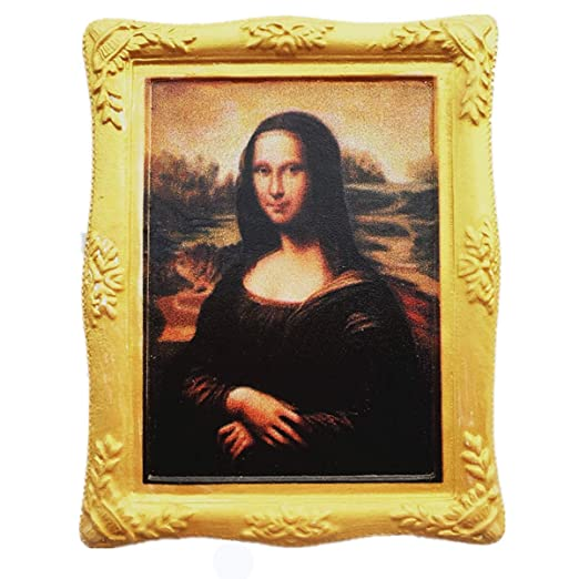 MUYU Magnet Famosa Pintura Mona Lisa de Leonardo da Vinci 3D imán ...