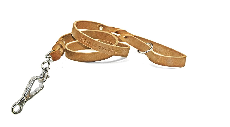 Dean & Tyler Tan Love to Walk Sprenger Snap guinzaglio con Anello della Maniglia, rossoolo da 3 10,2 cm
