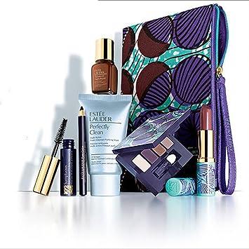 Amazon.com: Estee Lauder 2014 8 Pcs Skincare Makeup Gift Set with ...