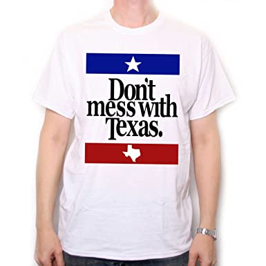 f86bb969fe9 Amazon.com  Old Skool Hooligans Don t Mess with Texas T Shirt  Clothing