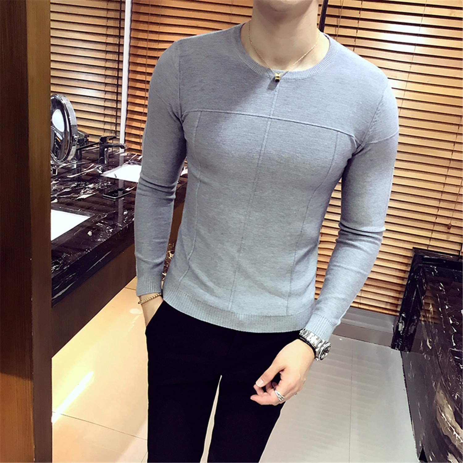 New Pattern Clothes Classic England Wind Solid Man Unlined Upper Garment Sweater