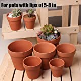 MAZU Flower Pot Clips 6 Pcs Hard Steel Durable