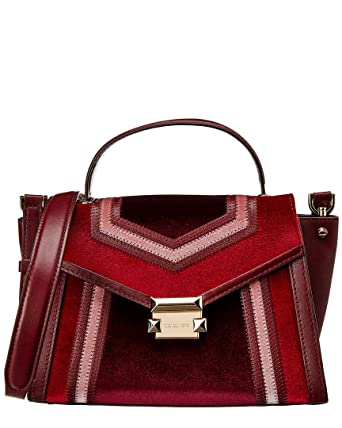 626341e0a715 ... store image unavailable. image not available for. color michael kors  whitney tricolor velvet leather