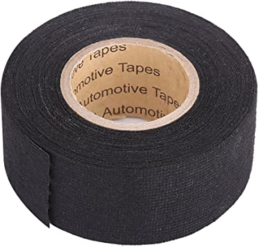 Amazon.com: MultiPurpose Car Wiring Harness Tape, Keenso Self Adhesive  Wiring Harness Cloth Tape Anti Squeak Rattle Automotive Wiring Harness  Wrapping Tape, Black (32mm × 11.5m): AutomotiveAmazon.com