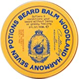 Seven Potions Beard Balm 2 oz. 100% Natural, Organic with Jojoba Oil. Makes Your Beard Soft, Stops Beard Itch, Leaves it Nour