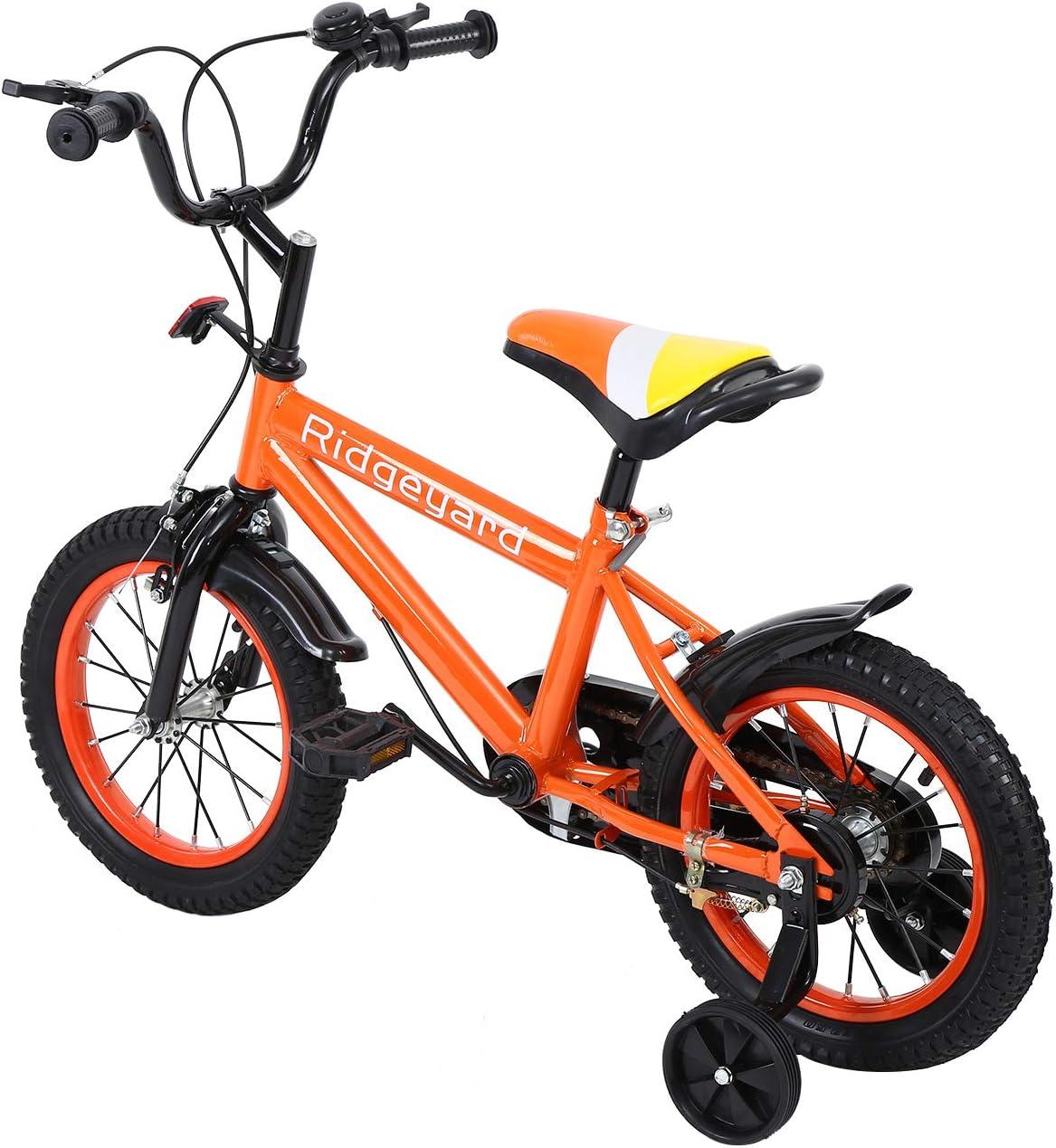 MuGuang 14 Pulgadas Bicicleta Infantil Estudio Aprendizaje Montar ...