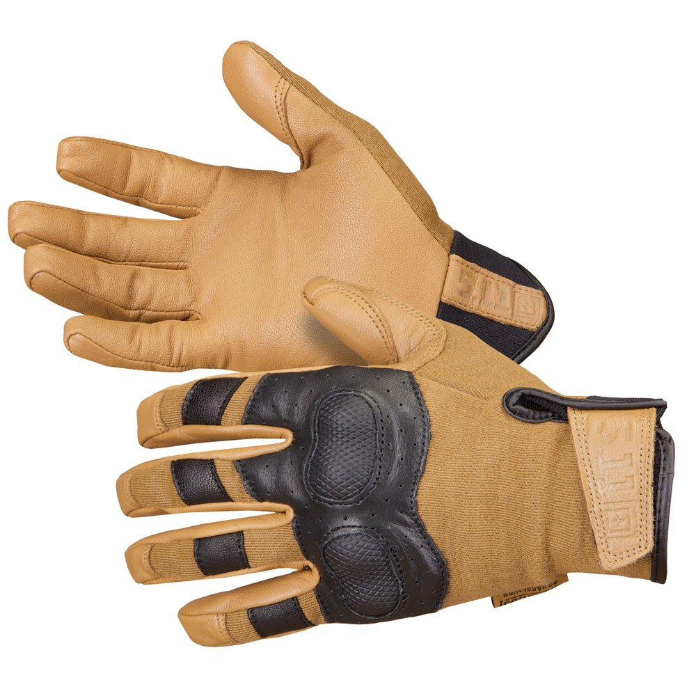 5.11 Tactical Hard Time Glove Coyote, Medium