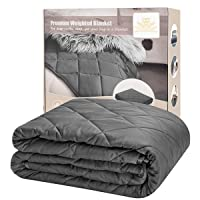 Foozoup 48-inch x 72-inch 15-lb. Weighted Blanket Deals