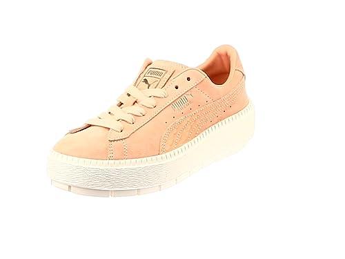 Amazon Shoes Puma Bags co Platform Shoes Animal amp; Suede uk Trace W SSxYrz