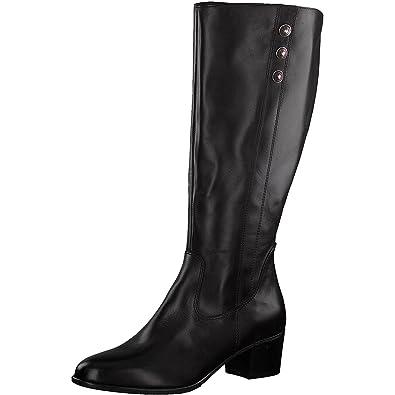 b263dc3d0cbc Tamaris Damen Stiefel 25557-21,Frauen  Boots,Lederstiefel,Reißverschluss,Blockabsatz 4.5