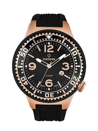 Kienzle K2093033143-00410 - Reloj analógico de cuarzo para hombre con correa de silicona,