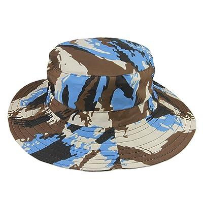 Baby Boys Girls Sun Hat Camouflage Hat Summer Sun Protection Fishermen Hat
