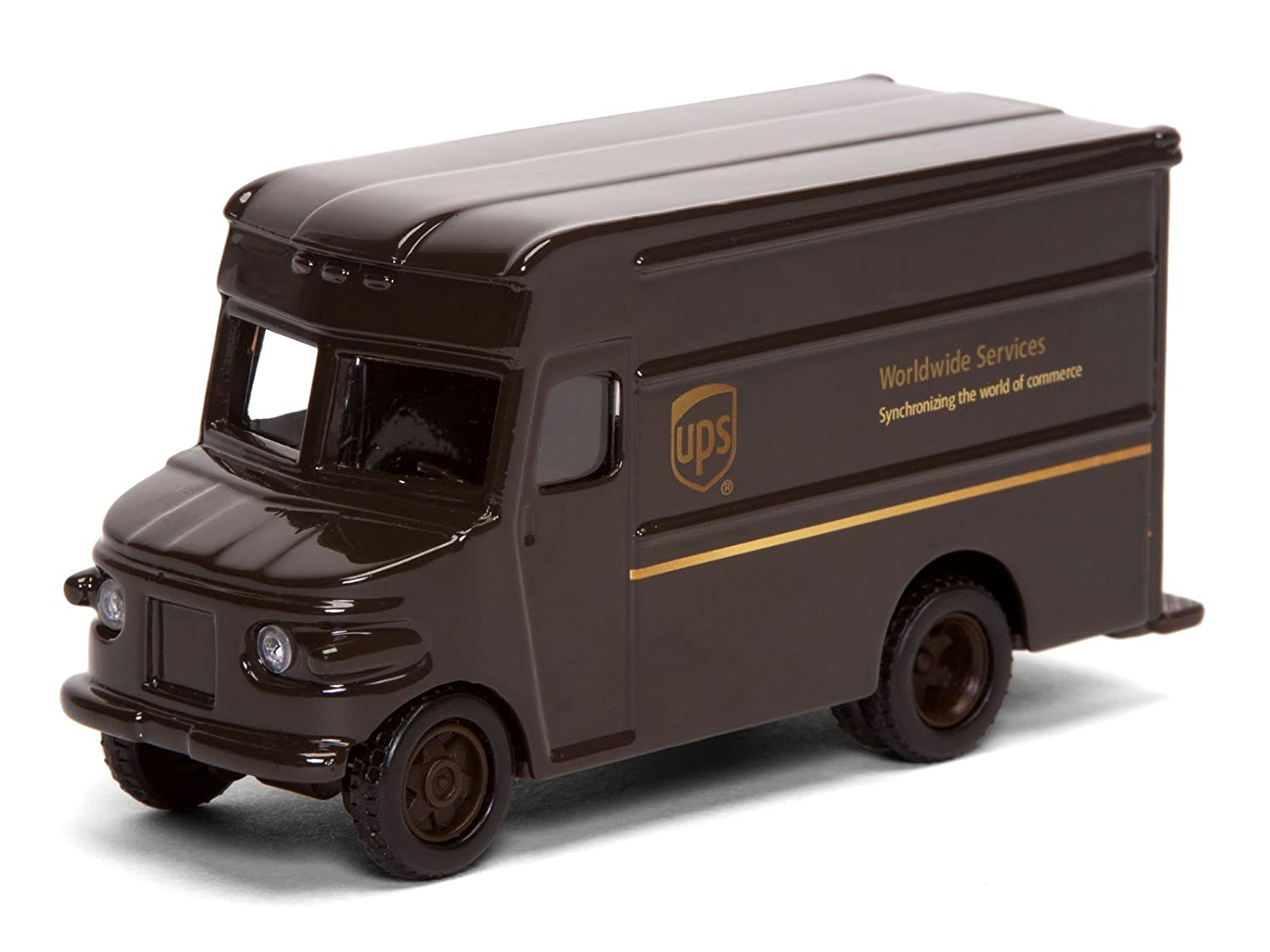 Amazon.com: UPS Delivery Die Cast Truck 1:55 Scale: Toys & Games