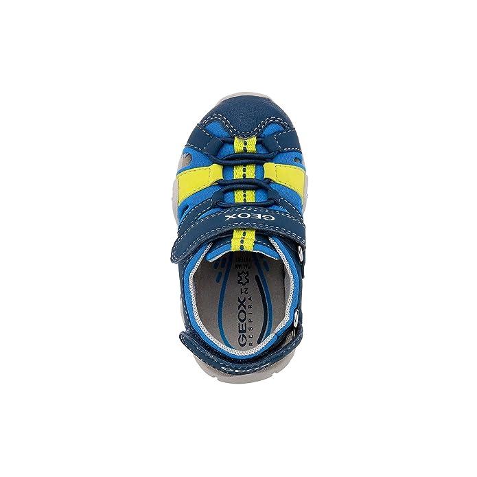 a00d037a7690fd Geox Scarpe Baby Sandali in Pelle blu B8224A-01550-CF4N4 Blue:  Amazon.co.uk: Shoes & Bags