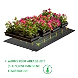 Plant Heat Mat, 10 x 20.75 inches 2 Pack Durable