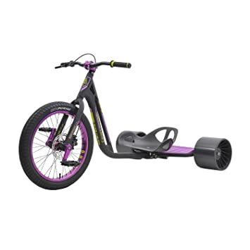 FireCloud Cycles Triad Pro Disc Drift Trike - Sindicato 3 en Color Negro y Morado (tamaño Completo): Amazon.es: Deportes y aire libre