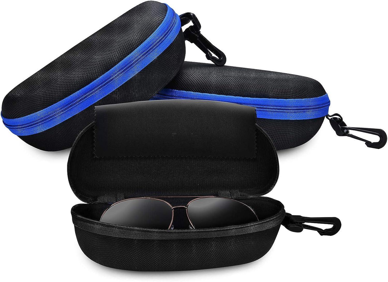 Lozom Sunglasses Case3 Pack...