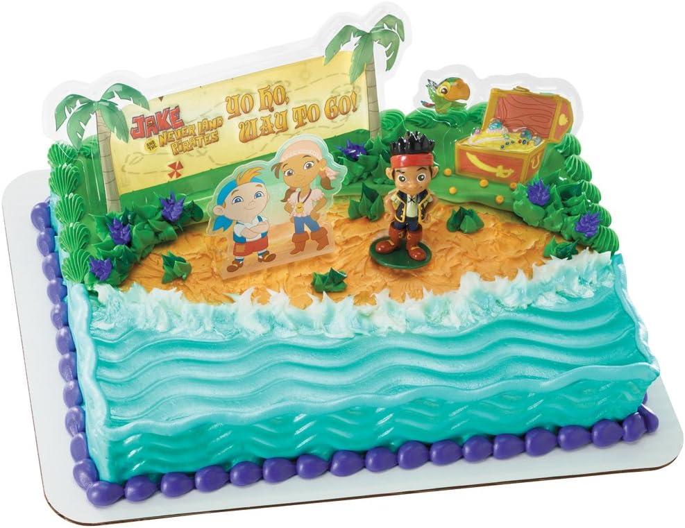 Groovy Amazon Com Decopac Jake Nl Pirates Yo Ho Way To Go Decoset Toys Birthday Cards Printable Trancafe Filternl