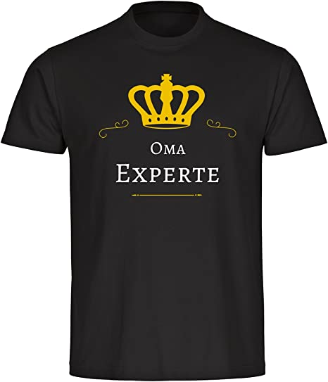 Camisa de la abuela experto hombres negro Gr, S hasta 5XL: Amazon.es: Deportes y aire libre
