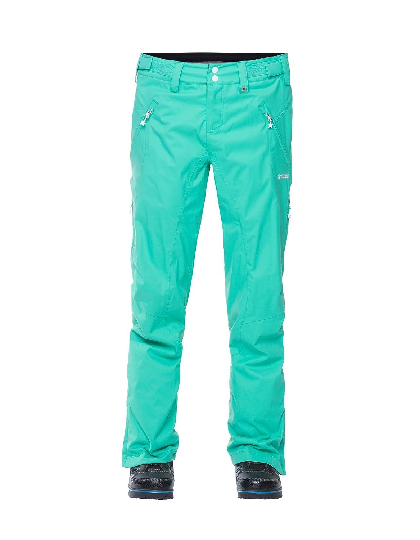 Zimtstern Damen Snow Pants Slender Women Gumdrop Green XS 5622804270002