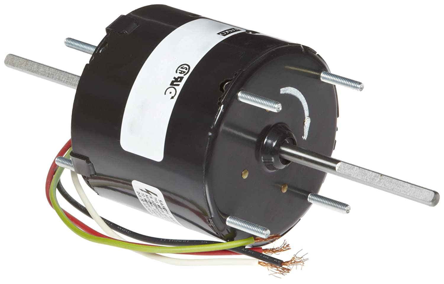 1-0.5 amps 3000rpm 60Hz 1//40-1//70HP Fasco D205 3.3 Frame Totally Enclosed Shaded Pole General Purpose Motor with/Sleeve Bearing 115V